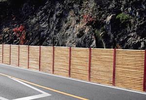 落石防護柵